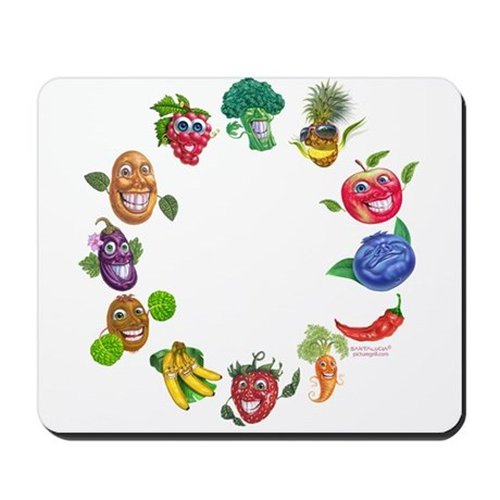 vegetables and fruits Mousepad