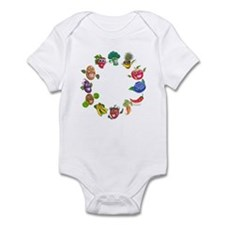 vegetables and fruits Infant Bodysuit