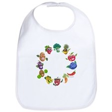 vegetables and fruits Bib