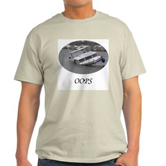 Oops! Ash Grey T-Shirt