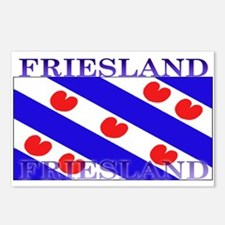 Friesland Frisian Flag Postcards (Package of 8)