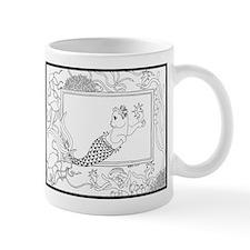 Mercat with seahorse and jell Mug