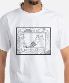 Mercat with seahorse and jell Shirt