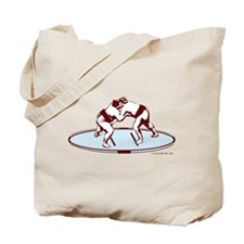 Sumo Match (Burgundy) Tote Bag