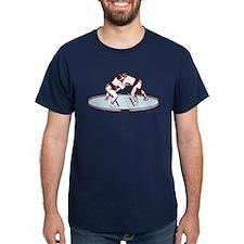 Sumo Match (Burgundy) T-Shirt