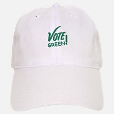 """Vote Green"" Baseball Baseball Cap"
