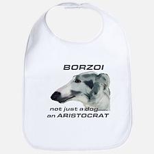 Borzoi Aristocrat Bib
