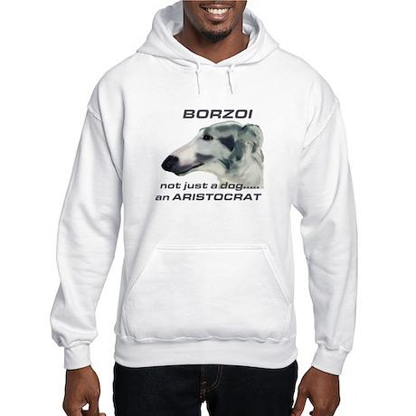 Borzoi Aristocrat Hooded Sweatshirt