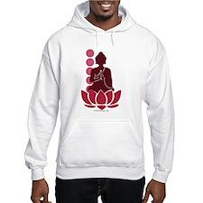 Praying Buddha (Red) Hoodie