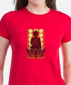 Praying Buddha (Orange) Tee