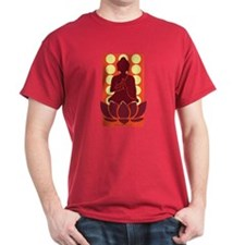 Praying Buddha (Orange) T-Shirt