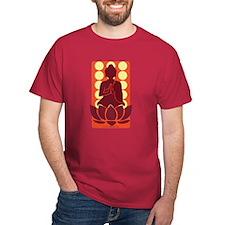 Praying Buddha (Orange) T-Shirt