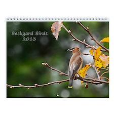 2013 Backyard Birds Calendar