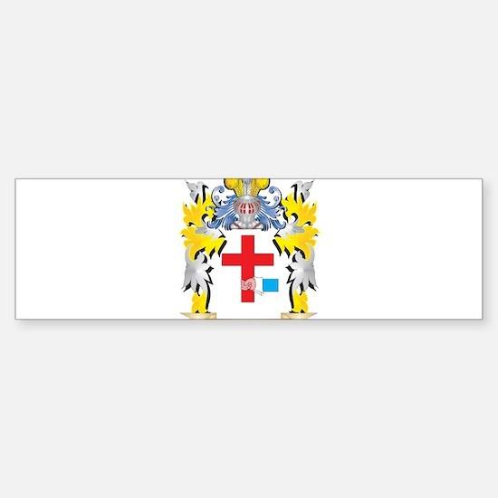 O'Donnell Family Crest - Coat o Bumper Bumper Bumper Sticker