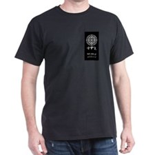 Tehwagi Attire: Black T-Shirt