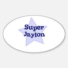 Super Jaylon Oval Decal