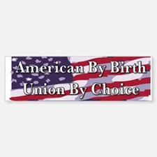 By Birth Bumper Bumper Bumper Sticker