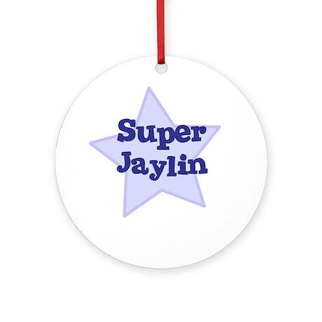 Super Jaylin Ornament (Round)