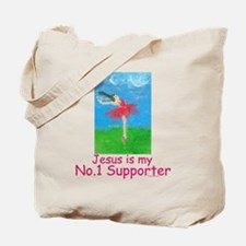 Jesus is my No.1 supporter Tote Bag
