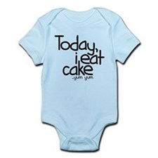 Today I Eat Cake Onesie