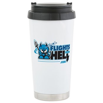 Flights From Hell Stainless Steel Travel Mug