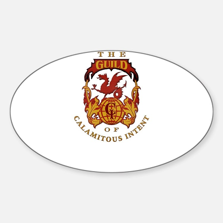 The Guild of Calamitous Inten Oval Decal