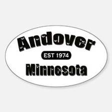 Andover Established 1974 Oval Decal