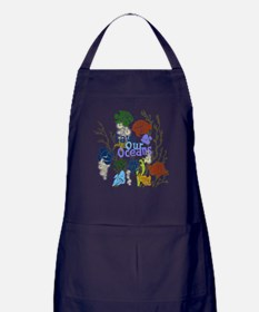 Save the Oceans Apron (dark)
