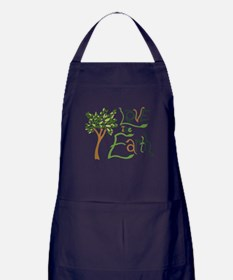 Love the Earth Apron (dark)