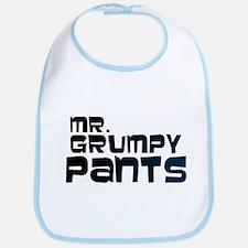 Mr Grumpy Pants Bib