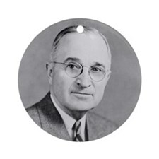 Harry S. Truman Ornament (Round)