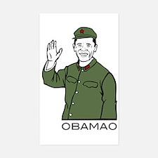 Obamao Rectangle Decal