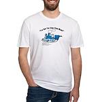 Choo Choo Blues Fitted T-Shirt