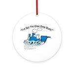 Choo Choo Blues Ornament (Round)