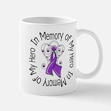 Purple Ribbon DecoAngel Mug