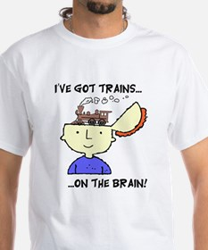 Trains On The Brain Shirt