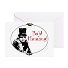 Scrooge Greeting Card