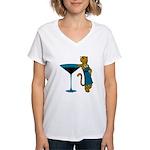 Jaguartini Women's V-Neck T-Shirt