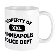 Property of Minneapolis PD Mug