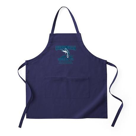 Caribbean Marlin Co. Apron (dark)