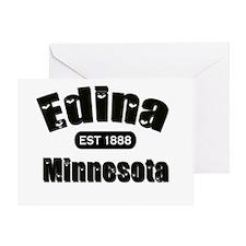 Edina Established 1888 Greeting Card