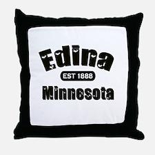 Edina Established 1888 Throw Pillow