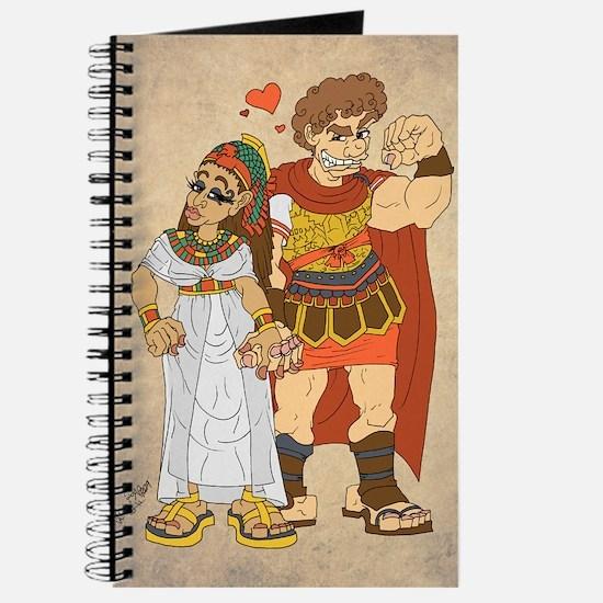 Cleopatra VII & Marcus Antonius Journal