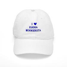 I Love Edina Winter Baseball Cap