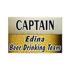 Edina Beer Drinking Team Rectangle Magnet