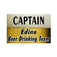 Edina Beer Drinking Team Rectangle Magnet (10 pack