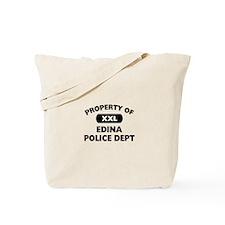Property of Edina Police Dept Tote Bag