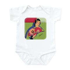 Alluring Gypsy Dancer Infant Bodysuit