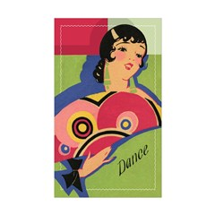Alluring Gypsy Dancer Rectangle Sticker 10 pk)