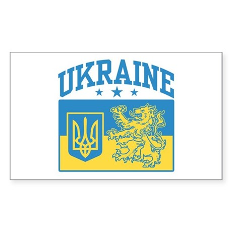 Ukraine Rectangle Sticker